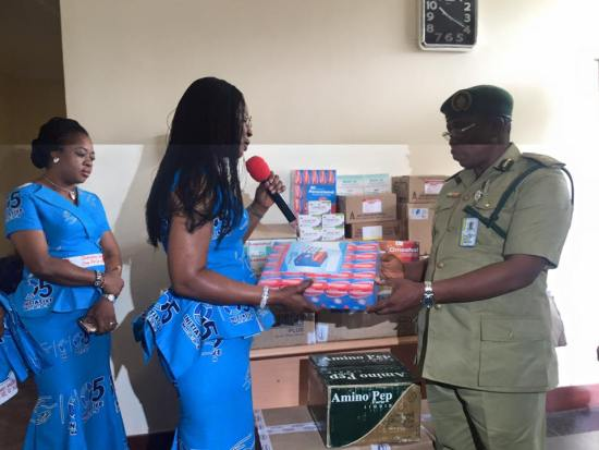 Dame Edith Okowa Donates Drugs to Prisons in Delta State