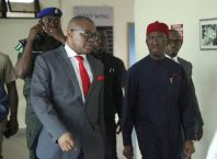 Governor Ifeanyi Okowa and Nicholas Azinge