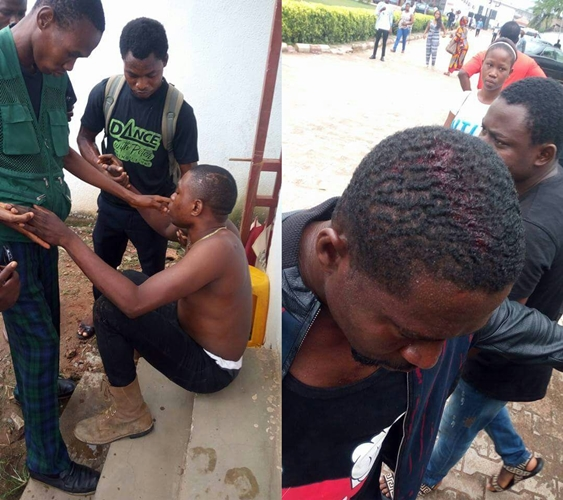 Protesters Clash in Benin city