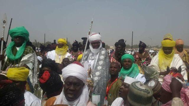 Obasanjo in Sokoto Durbar