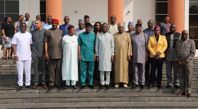 Joint National Assembly Committee on Works Visit Delta State