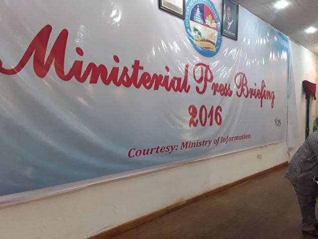 Delta State Ministerial Press Briefing
