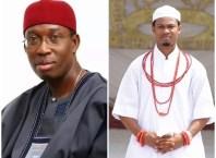 Delta State Governor and Obi of Issele-Uku Kingdom