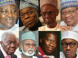 nigeria ex-presidents