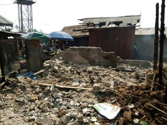 Delta Speaker Commiserates with Victims of Amukpe Market Fire Disaster