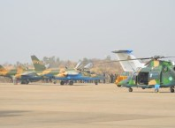 Nigerian Airforce Airlifts Troops