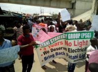 Patani Indigenes Protest on Electricity Power Outage