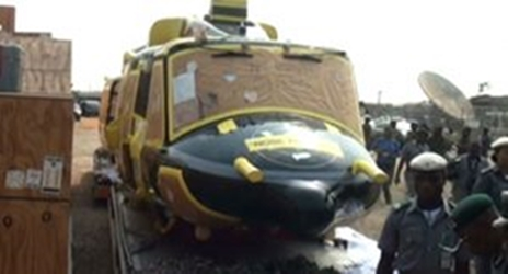 Photo of helicopters seized by customs