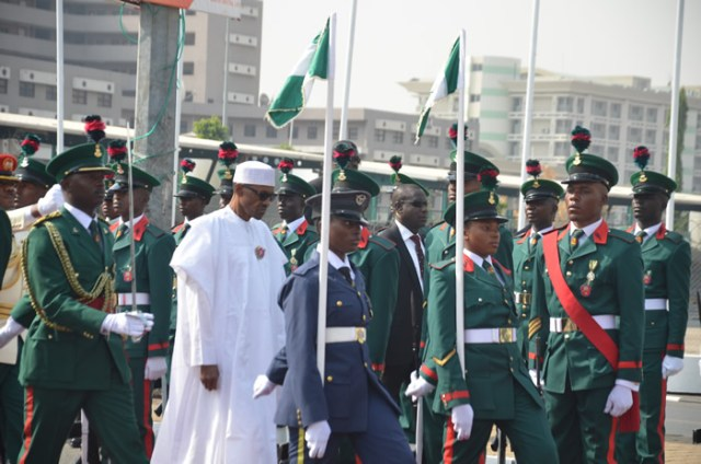 Photos of 2017 Armed Forces Remembrance Day in Abuja