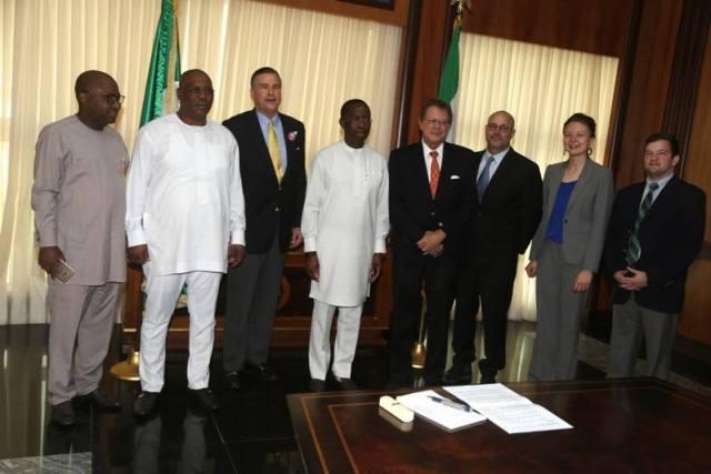 US Ambassador visits Delta State