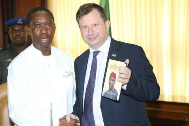 Governor Okowa and British High Commissioner