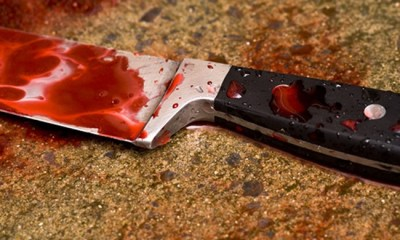 Blood Stained Knife
