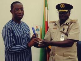 Okowa and Nigerian Immigration Service