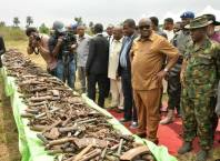 Rivers State Destroy Arms and Ammunition