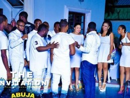 Abuja All White Pool Party
