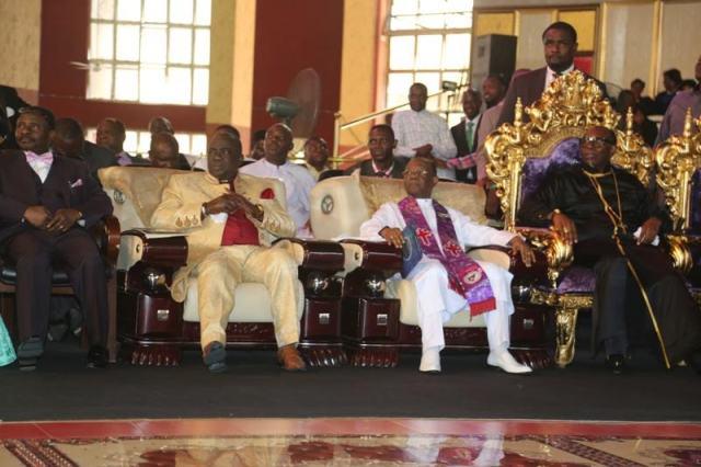 Pastor Oritsejafor and Other Men of God
