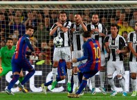 Barcelona and Juventus