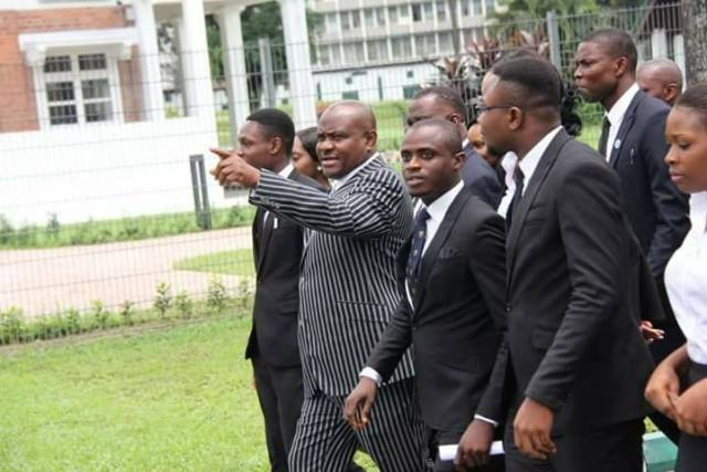 Wike and Nigerian Law School Students