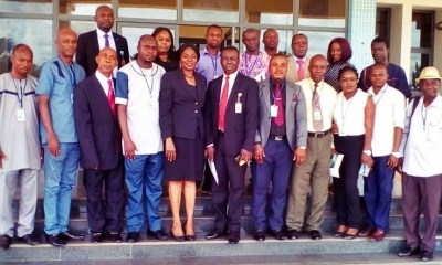 INMC Members and CBN Officials in Asaba