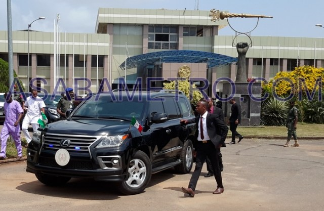 Governor Okowa's Convoy