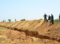 Trench at University of Maiduguri