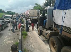 Blocked Benin-Lagos Road