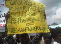 NUT Protest in Delta State (1)