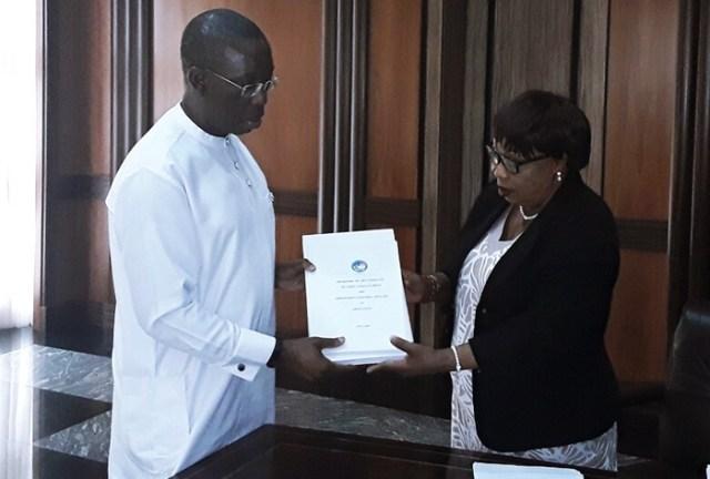 Governor Okowa and Nkem Okwuofu