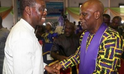 Okowa and Bishop Kingsley Enakirehi
