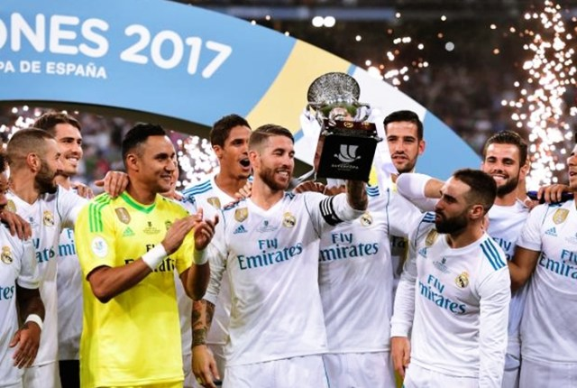 Real Madrid Wins Spanish Super Cup