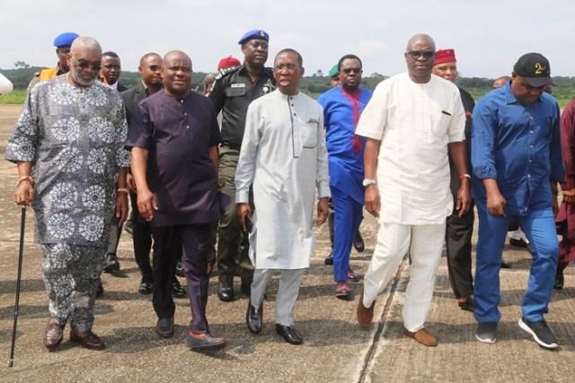 PDP Governors Wike Okowa Fayose