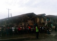 Imo state government demolishes Eke ukwu market in Owerri