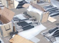 Jojef Magnum Pump Action Rifles Seized at Tin-Can Port, Lagos