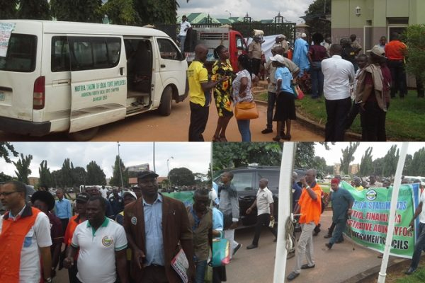 NULGE PROTEST IN ASABA