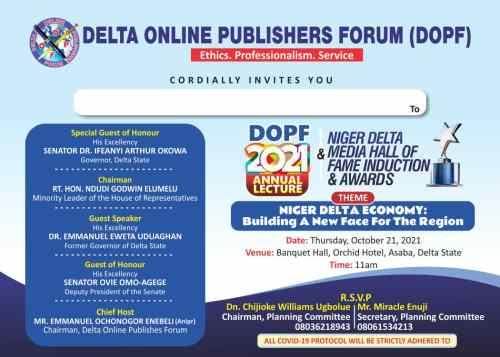 DOPF 2021 AWARDS
