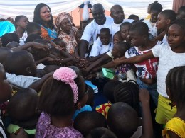 Mrs Joy Mariere Celebrates Children's Day with Children of Ughelli North One Constituency
