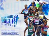 Confederation of African Athletics CAA Asaba 2018