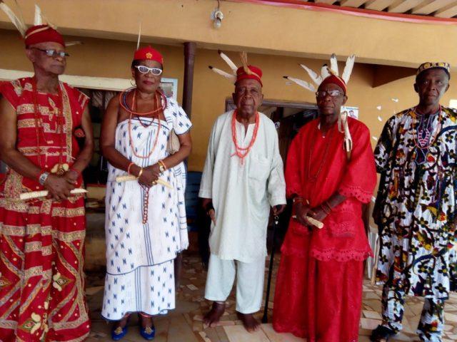 Omu Anioma and Diokpa of Obodogba, Ogbueshi Fredrick Ugbene