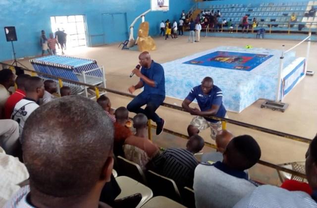 Groundsmen Screening Exercise for CAA Asaba 2018