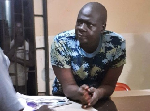 Naval Personnel, Lance Corporal Usman Shaibu Caught Stealing from Tompolo