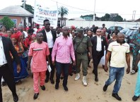 Ned Nwoko in Agbor