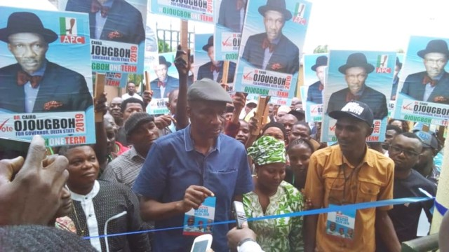 Dr. Cairo Ojougboh Inaugurates Gubernatorial Campaign Office