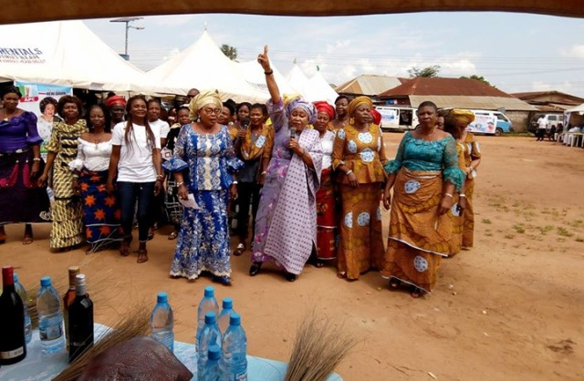 The Rally was attended by the APC Delta North Senatorial hopeful, Dr. Mrs. Marian Nneamaka Alli (Enyi Kpakpando)