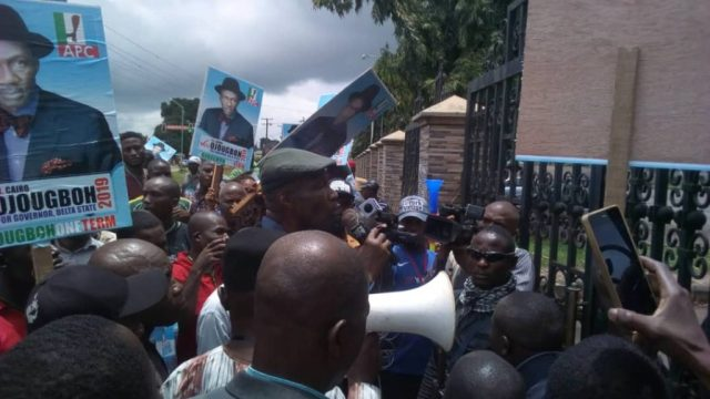 Ojougboh at Delta State House of Assembly