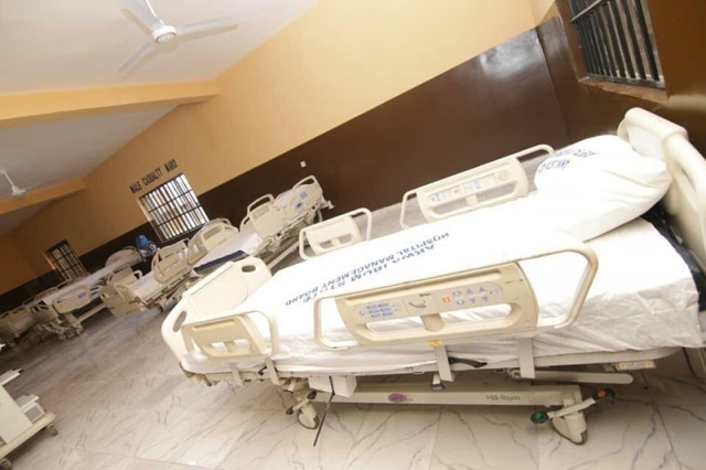 Male Casualty Ward at Methodist General Hospital, Ituk Mbang, Uruan LGA, Akwa Ibom State