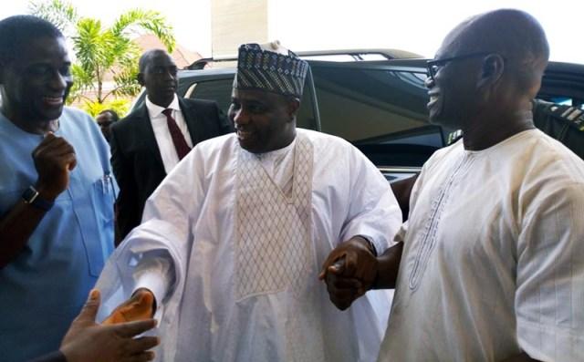 Sokoto State Governor, Rt. Hon. Aminu Tambuwal Visits Comrade Macaulay in Asaba