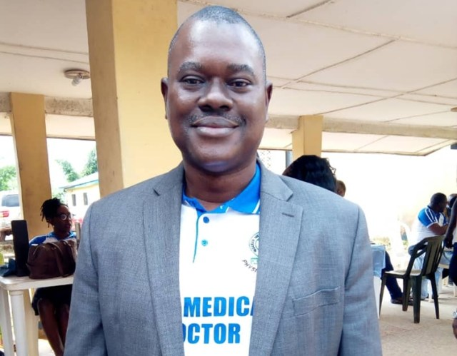 Dr. Omo Ekene, Chairman, Delta State Chapter of Nigerian Medical Association, NMA
