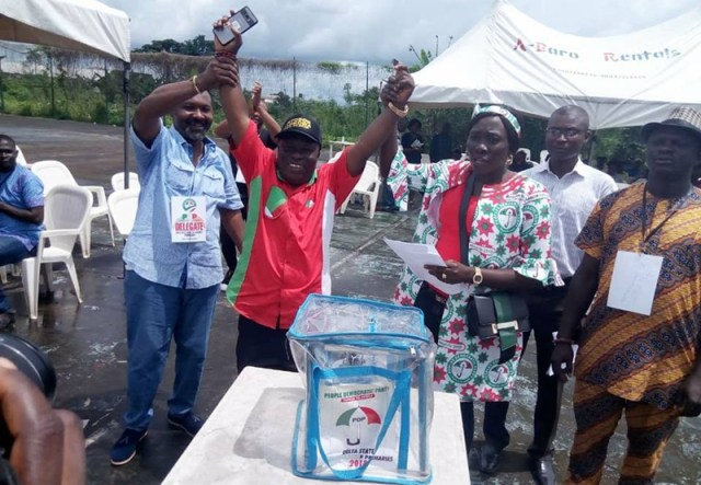 Hon.Peter Okagbare Uviejitobor Picks PDP Udu Constituency Ticket