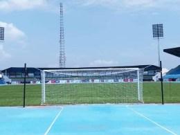 Stephen Keshi Stadium Football Pitch