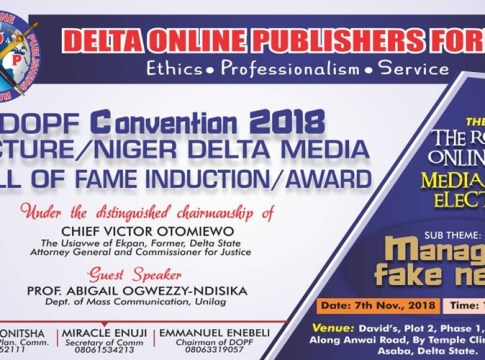 Delta Online Publishers Forum 2018 Convention